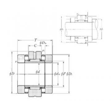 NTN ARN50110 Cojinetes Complejos