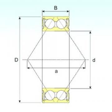 17 mm x 40 mm x 17,5 mm  CYSD 5203 2RS Cojinetes De Bola De Contacto Angular