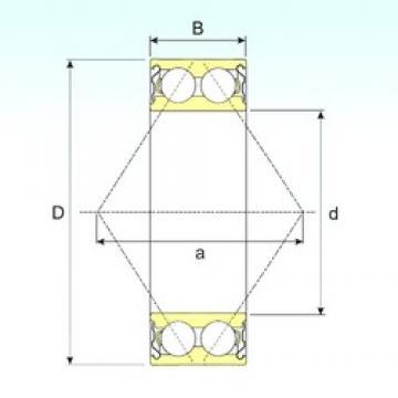 65 mm x 140 mm x 58,7 mm  CYSD 5313ZZ Cojinetes De Bola De Contacto Angular