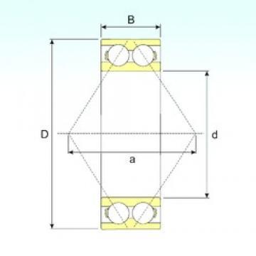 45 mm x 100 mm x 39,7 mm  CYSD 5309 Cojinetes De Bola De Contacto Angular