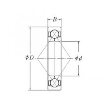 60 mm x 130 mm x 22 mm  CYSD QJ212 Cojinetes De Bola De Contacto Angular