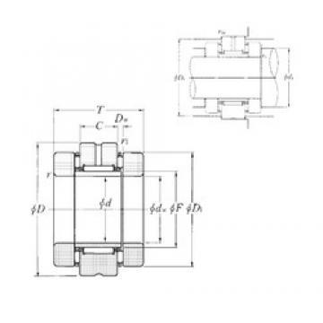 NTN AXN4580 Cojinetes Complejos