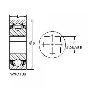 AST WSQ111-108 Cojinetes de bolas profundas