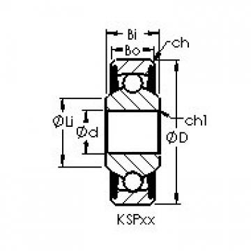 AST KSP5A Cojinetes de bolas profundas